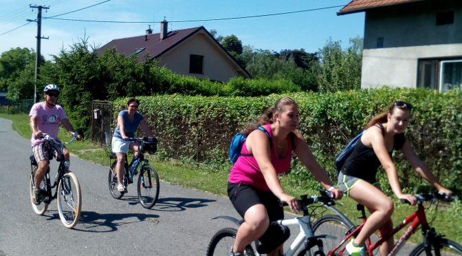 Cyklovýlet Landek