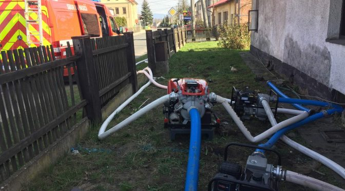 Technická pomoc: Čerpání vody
