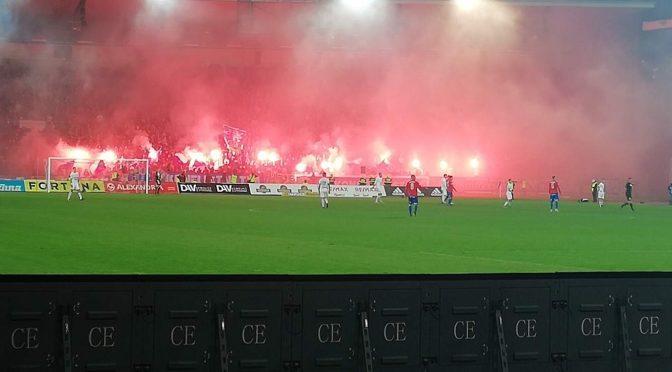 Asistence při prvoligovém fotbalovém zápase