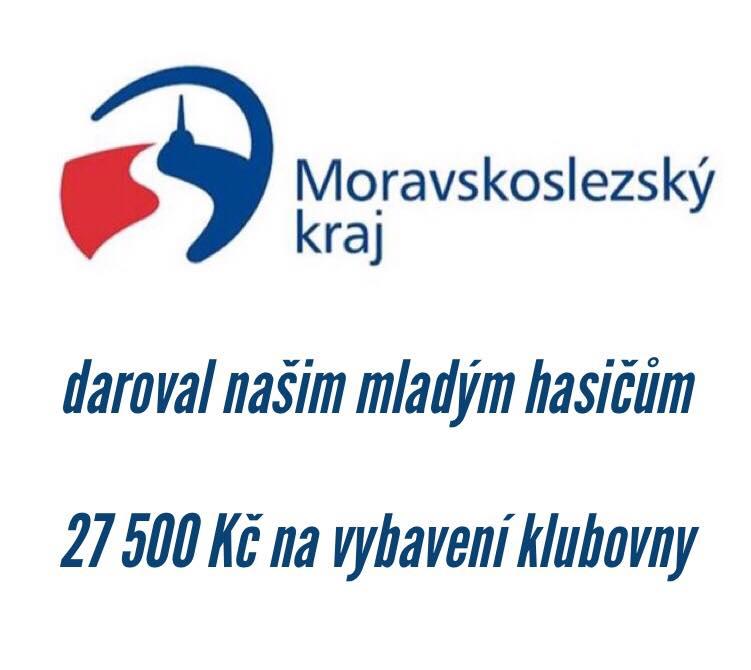Dotace Krajského úřadu Moravskoslezského kraje