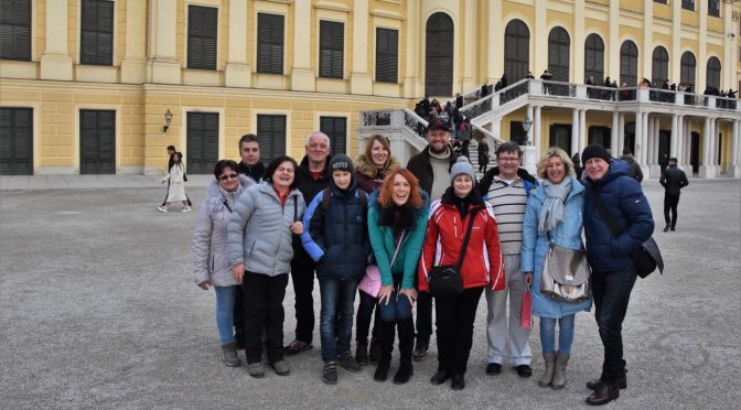 Výprava na vánoční trhy do Vídně