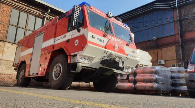 3x Požární asistence