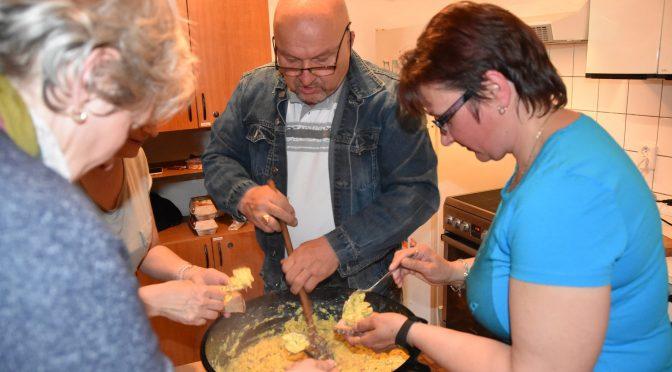 Smažení vaječiny
