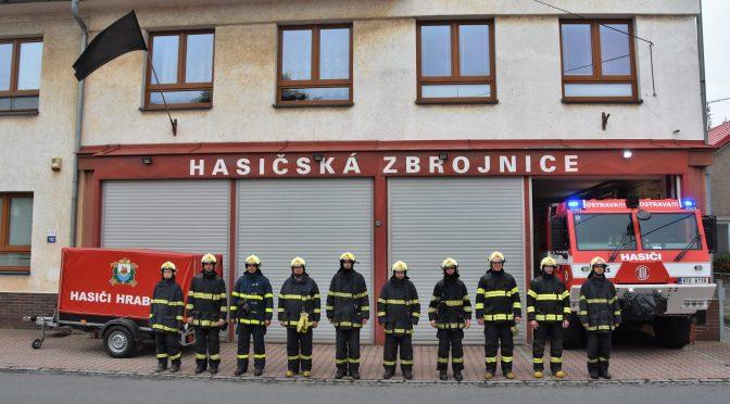 Uctění památky zesnulých hasičů JSDH koryčany